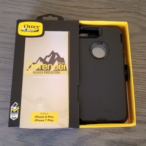 iPhone 8 Plus 7 Plus Otterbox Defender Case